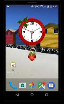 Christmas clock live wallpaper screenshot 5