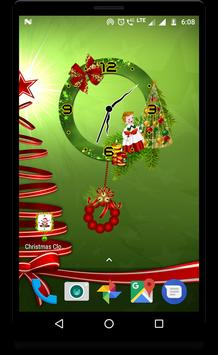 Christmas clock live wallpaper screenshot 6