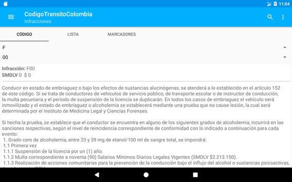 Código Tránsito Colombia скриншот 14