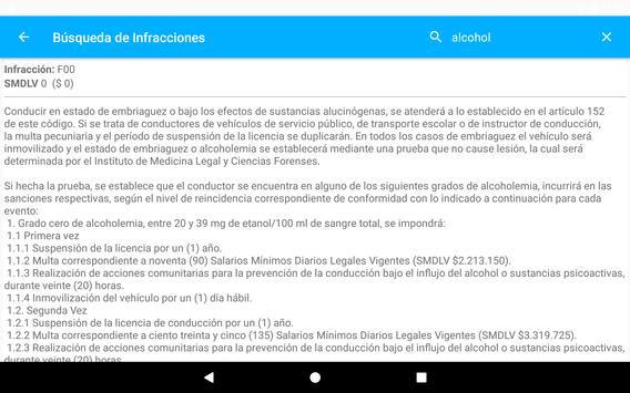 Código Tránsito Colombia скриншот 15