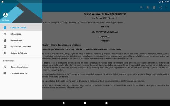 Código Tránsito Colombia скриншот 7