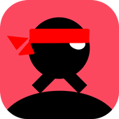 Stick NinjaJump Hero Fun 2019 icon