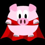 Farting Piggy icon