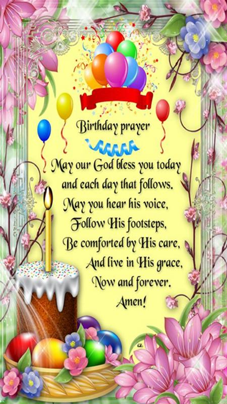 Blessed Birthday Wishes Prayer Screenshot 4