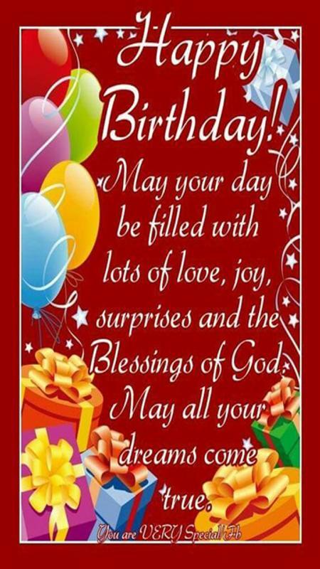 Blessed Birthday Wishes Prayer Screenshot 6
