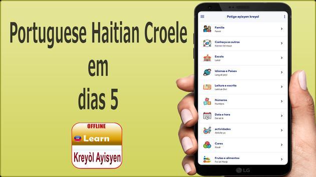 Aprender  Hablar haitiano poster