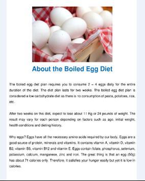 Boiled Egg Diet poster