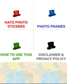 Hats Photo Editor poster