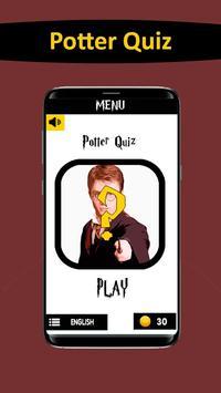 Potter Quiz poster