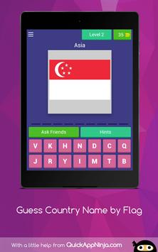 GUESS? COUNTRY NAME by FLAGS 2019 screenshot 9