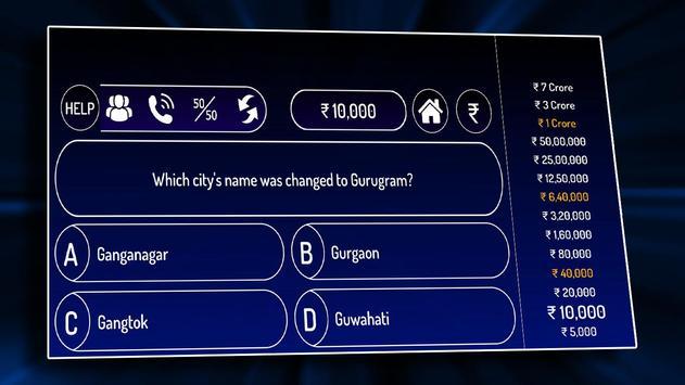 KBC 2020 : Ultimate Crorepati in Hindi & English screenshot 4