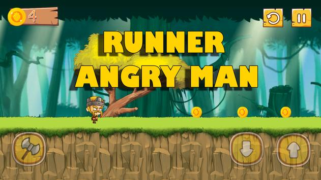 Runner Angry Man poster