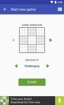 Andoku Sudoku 3 تصوير الشاشة 1
