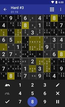 Andoku Sudoku 3 تصوير الشاشة 7