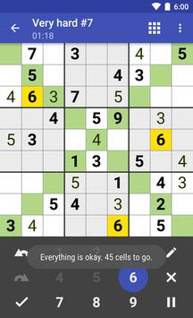 Andoku Sudoku 3 تصوير الشاشة 4