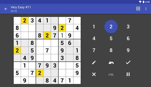Andoku Sudoku 3 截图 9