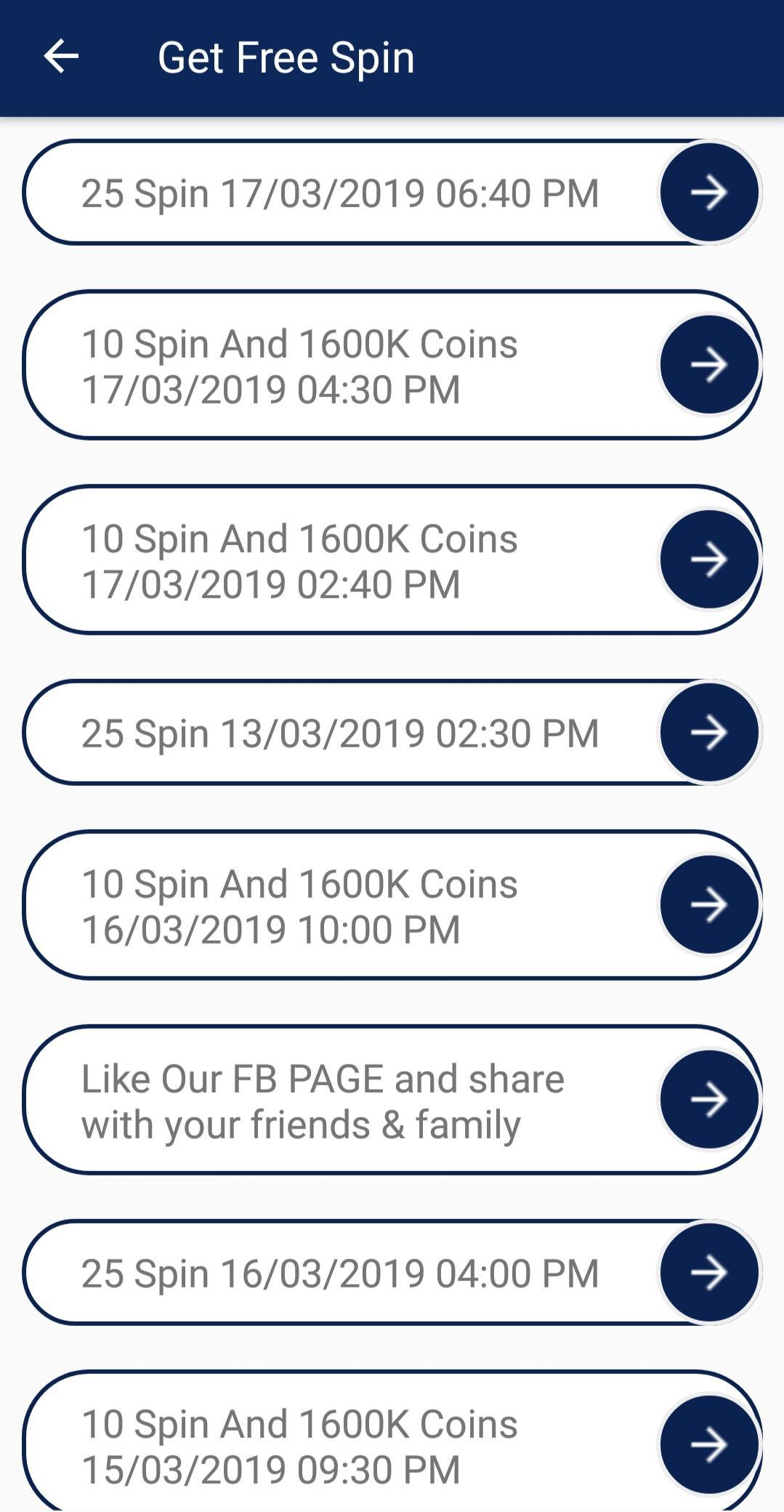 Coin master daily free spins 2019 breeders cup