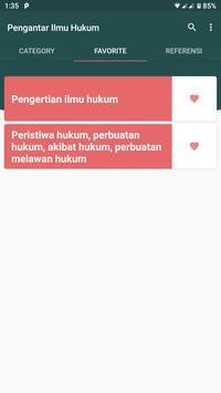 Pengantar Ilmu Hukum Offline screenshot 1