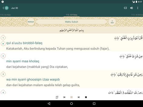 Al Quran Indonesia screenshot 10