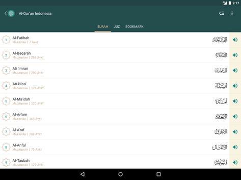 Al Quran Indonesia screenshot 14