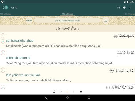 Al Quran Melayu capture d'écran 10