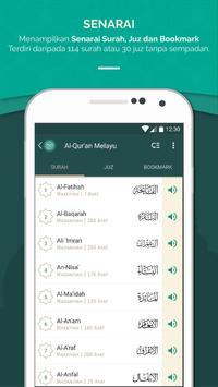 Al Quran Melayu screenshot 2