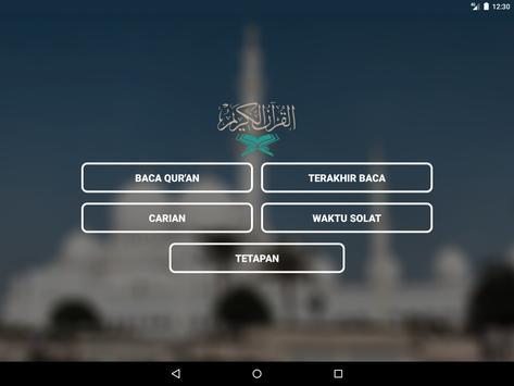 Al Quran Melayu capture d'écran 8