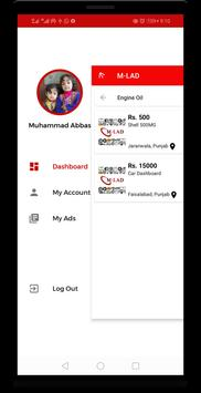 M-LAD : Buy & Sell Auto Parts in Pakistan screenshot 2