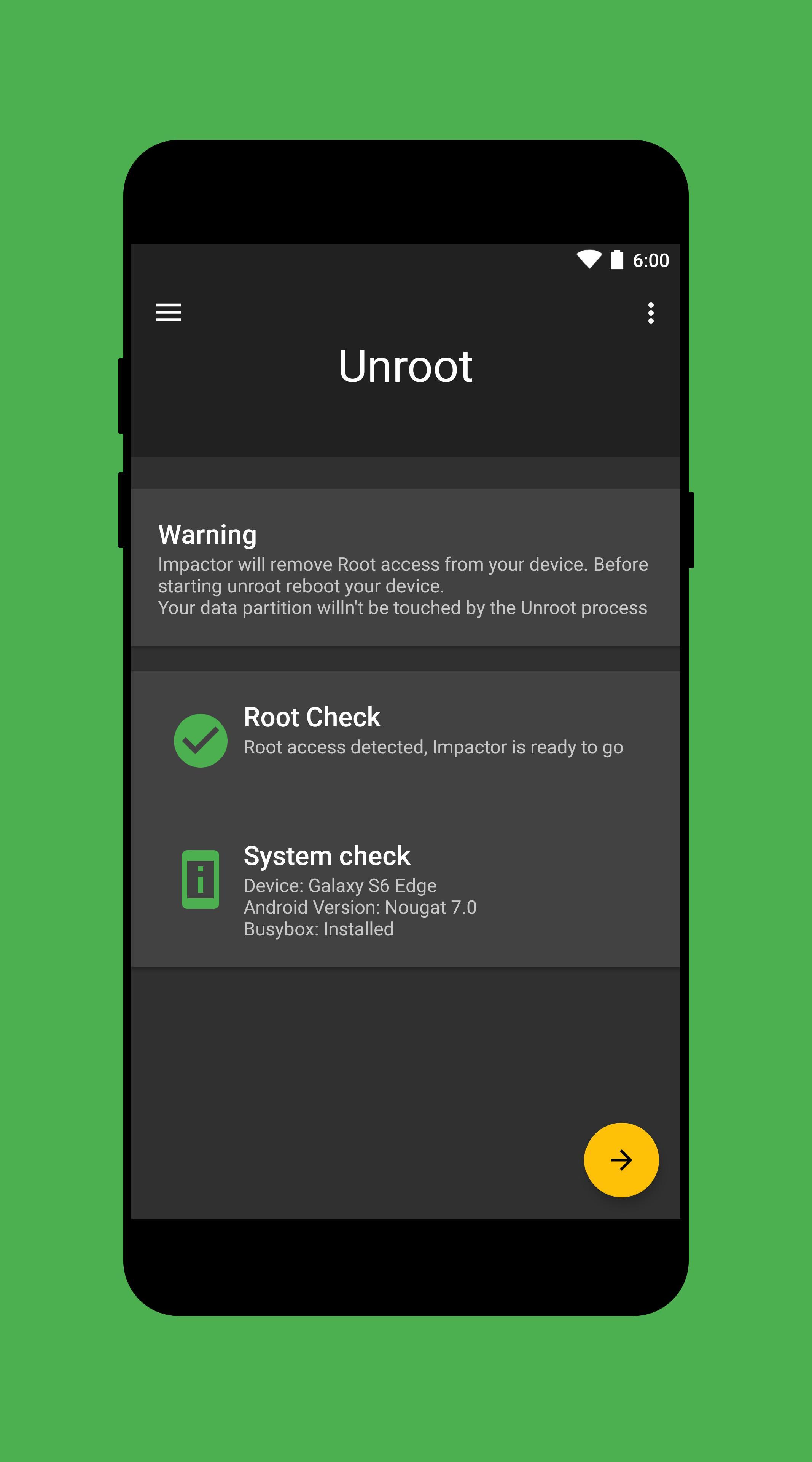 Impactor Universal Unroot for Android - APK Download