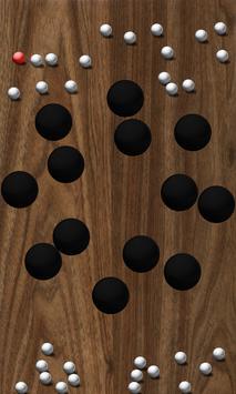 Roll Balls into a hole screenshot 4