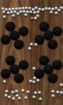Roll Balls into a hole screenshot 5