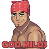 Ricardo Milos Meme Stickers - WAStickerApps icono