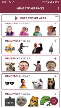 Ricardo Milos Meme Stickers - WAStickerApps captura de pantalla 13