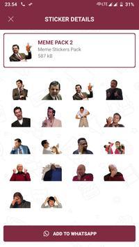 Ricardo Milos Meme Stickers - WAStickerApps captura de pantalla 12