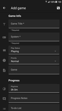 Game Backlog スクリーンショット 5