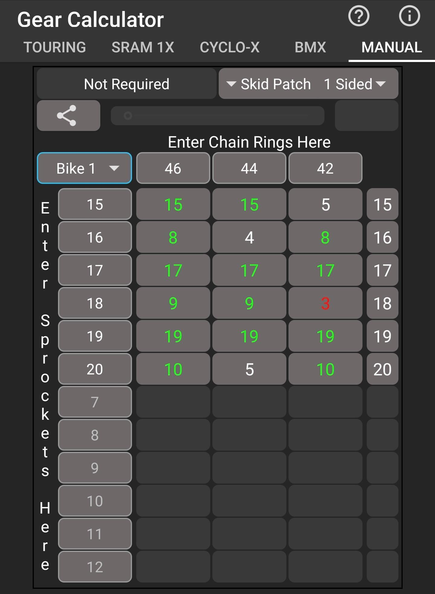 Bicycle Gear Calculator - Free for Android - APK Download