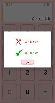 Mental arithmetic. Math kids games screenshot 2