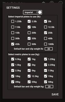 Plate Calculator screenshot 1