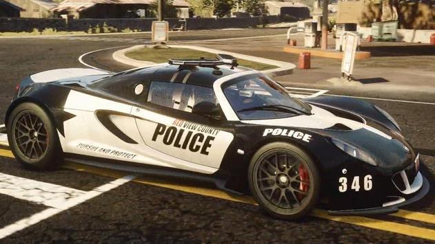 Speed Police Car Simulator USA Edition poster