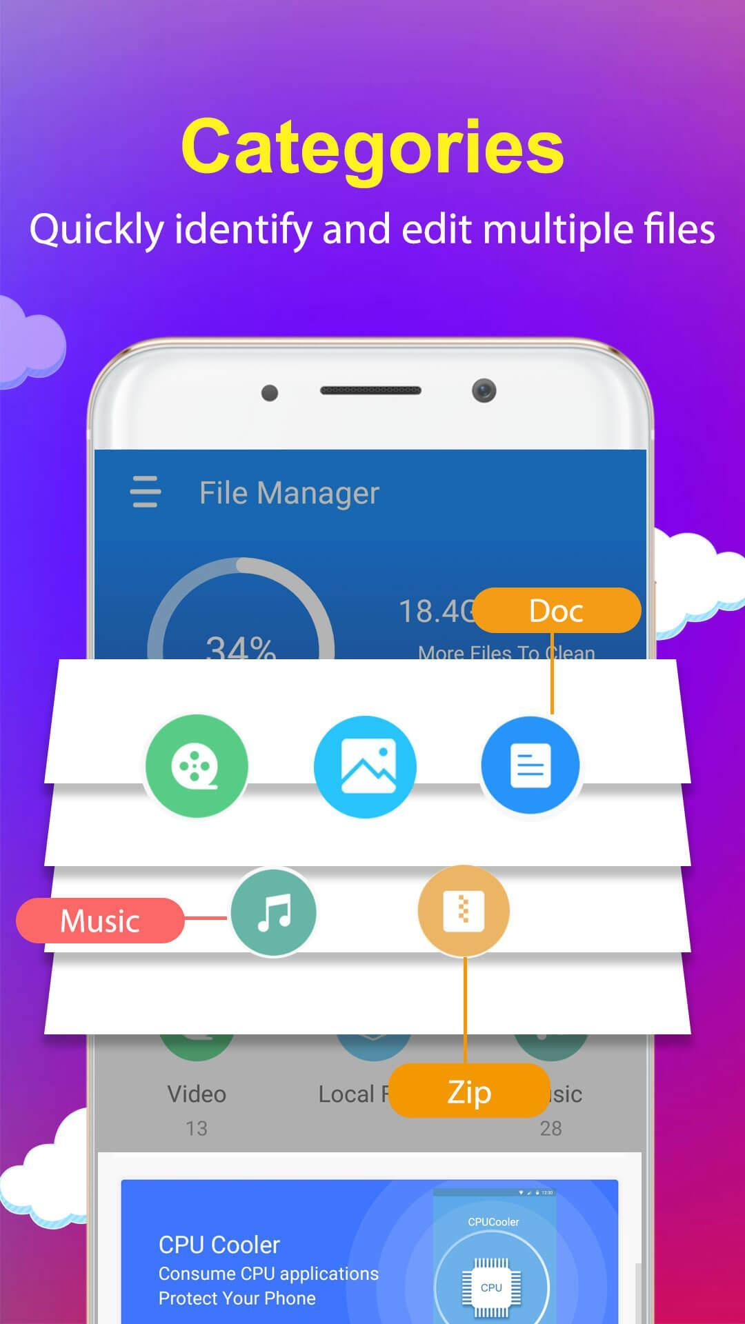 File Manager : Storage Analyse & Junk Clean for Android