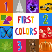First Words for Baby: Colors 图标