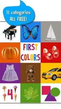 First Words for Baby: Colors 截图 5