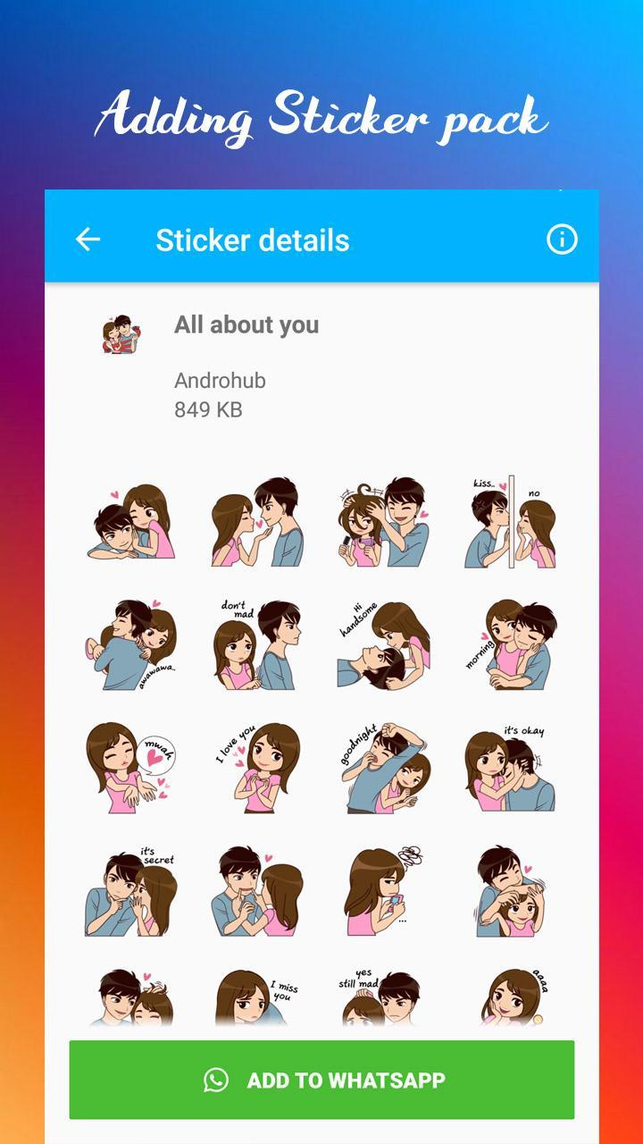 Love Stickers For Wa For Android Apk Download