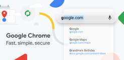Google Chrome: Fast & Secure