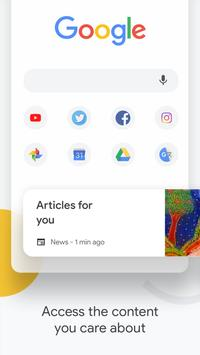 Google Chrome:速度與安全兼具 海報