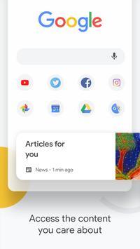 Google Chrome:快速、安全 海报