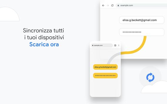 19 Schermata Google Chrome: veloce e sicuro