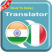 Hindi To Italian - IT To HI – Speak Translator アイコン