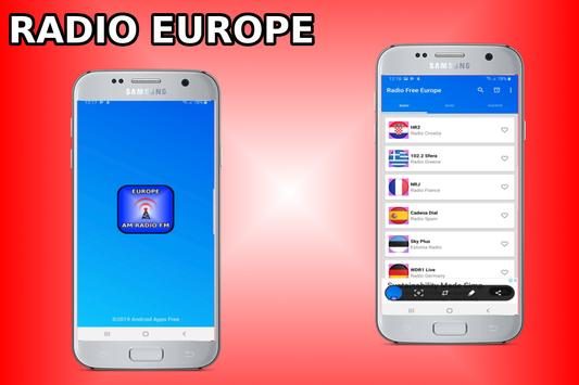 Radio Free Europe - Radio Europe - Europe Radio poster