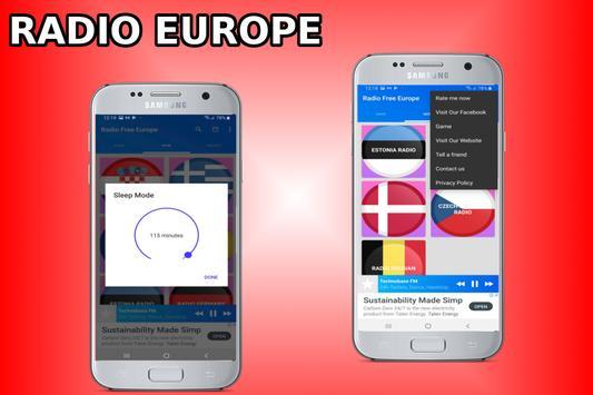 Radio Free Europe - Radio Europe - Europe Radio screenshot 2